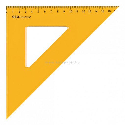 Aristo GEOContrast háromszög vonalzó, 17 cm
