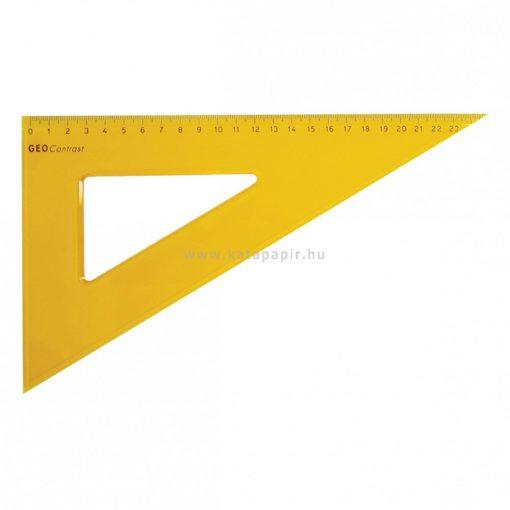 Aristo GEOContrast háromszög vonalzó, 24 cm