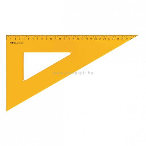 Aristo GEOContrast háromszög vonalzó, 29 cm