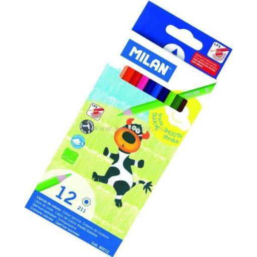 MILAN színes ceruza 12 DB-OS 211
