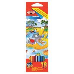 KOH-I-NOOR színes ceruza  3133/18 7140104002 18 db-os