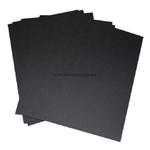 FOTÓKARTON B/2 (70X50) NYOMELL fekete