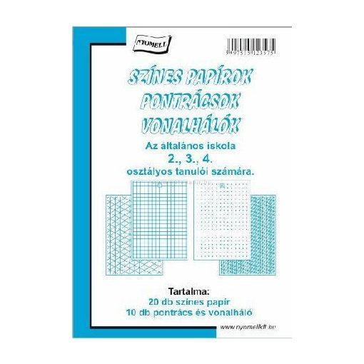 SZÍNES PONTRÁCS 2-4. OSZTÁLY