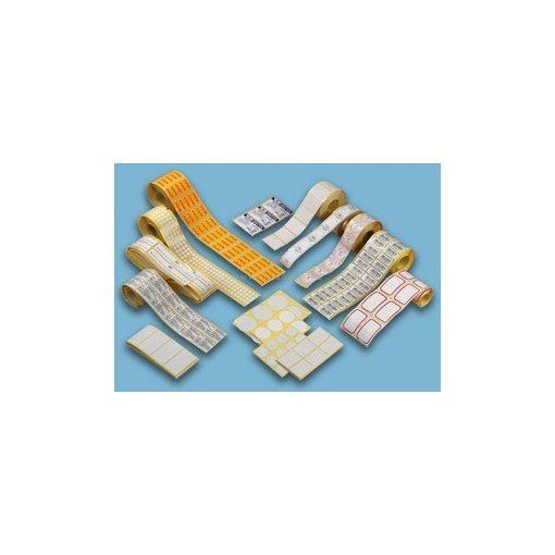 Körcímke 30mm öntapadó fehér (60 címke/csomag)