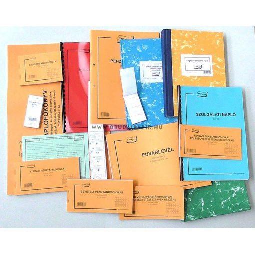 Szállítólevél új 25X4 példányos A/5 B.10-70/V/4/ÚJ