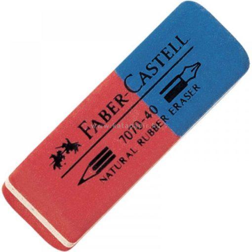 Faber-Castell Kaucsuk Radír Kék/Piros 187040