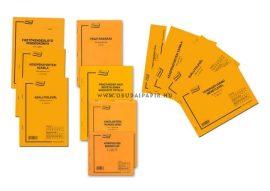 Készpénzfizetési számla 50x3 példányos A/5 B.13-373/A/V