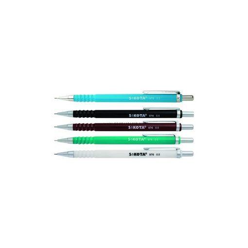 SaKOTA AAA0051 nyomósiron 0,5mm műanyagtestű, vegyes színekben