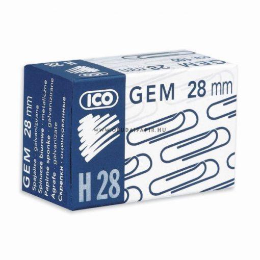Salta ICO gémkapocs H28, 100 db/doboz