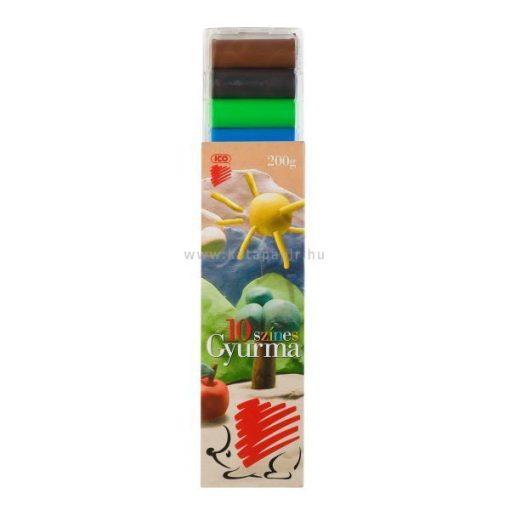 "Gyurma, 200 g, ICO ""Süni"", színes"
