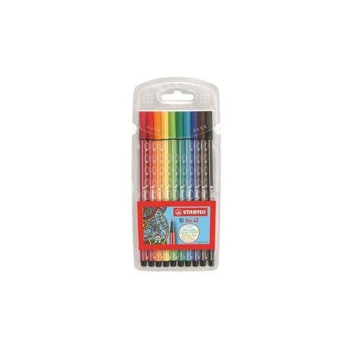 STABILO Pen 68 filckészlet, vízbázisú (10 db-os készlet)